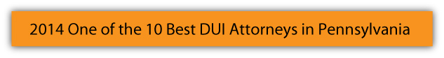 2014 One of the 10 Best DUI Attorneys