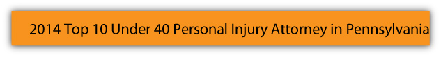 2014 Top 10 Under 40 Personal Injury